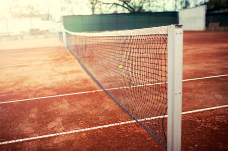 Tennis Court Net Wallpaper Mural