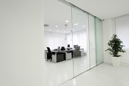 Interior of the modern office