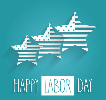 Happy Labor Day. Vector illustration