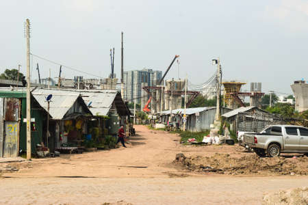 Domestic inequality is being illustrated in Bangkok where the lower class citizens are being left living outside the center of the city. This issue is becoming more and more common not only in Bangkok, but also around the rest of the world in parallel gro