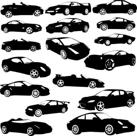 sport car - vector