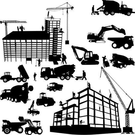 under construction - vector