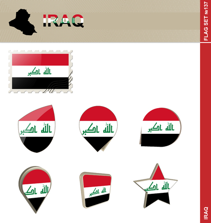 Iraq Flag Set