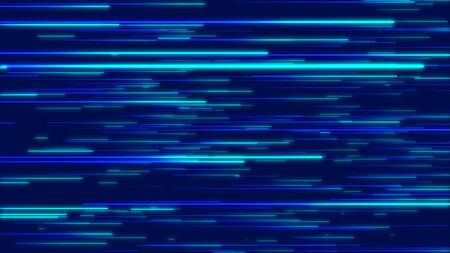 Photo for Blue abstract radial lines geometric background. Data flow. Explosion star. Optical fiber. Motion effect. Background - Royalty Free Image