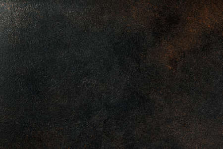 Foto de Old dark rusty background copy space top view - Imagen libre de derechos