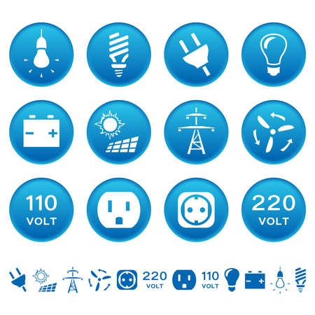 Electric icons