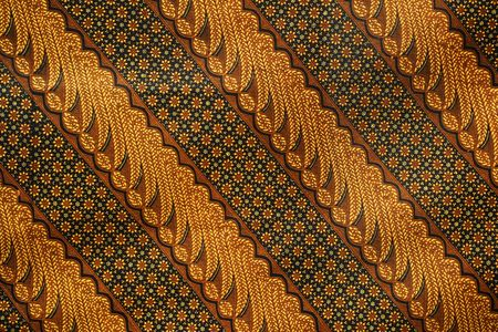 One among thousands pattern of batik, Indonesia traditional cloth