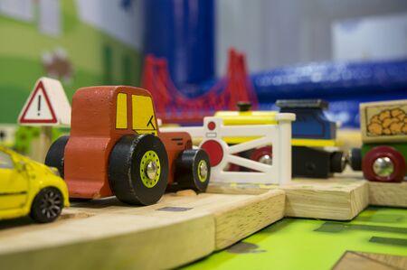 toy traffic train playground children child play