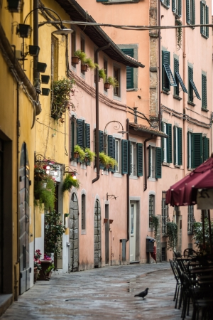 Street In Tuscany, Italy Mural Wallpaper