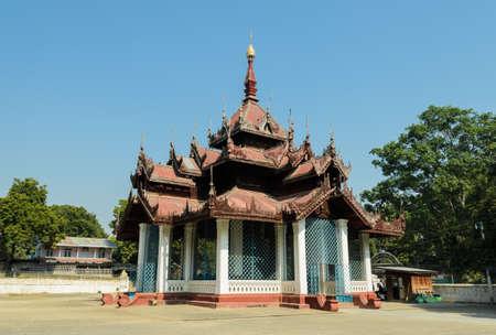 Mingun bell pavilion, Myanmar