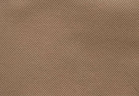 Photo pour Brown texture background of nonwoven or spunbond fabric - image libre de droit