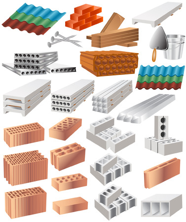 there are many building material