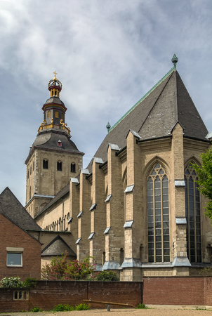 The Basilica of St. Ursula is one of the twelve Romanesque churches of Cologne, Germany. It is built upon the ancient ruins of a Roman cemetery