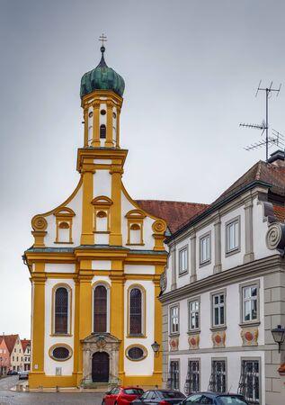 Church (Studienkirche) of St. Ursula in Neuburg an der Donau, Germany