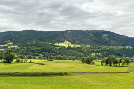 Photo for landscape with mountains in Styria, Austria - Royalty Free Image