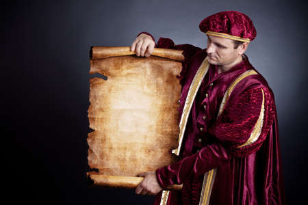 Nobleman has control over the developed roll. A retro style