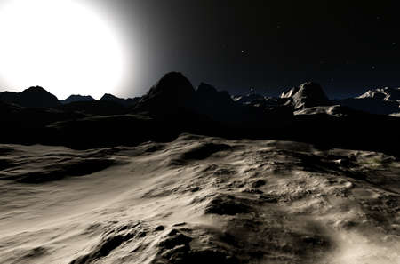 Another Planet 3D render