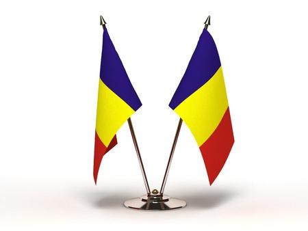 Photo pour Miniature Flag of Romania - image libre de droit