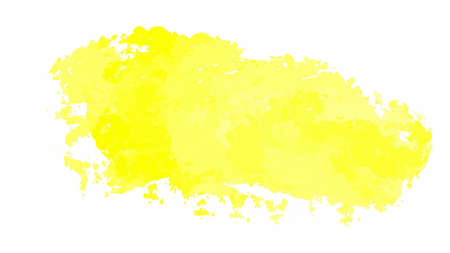 Illustration for Yellow watercolor background for textures backgrounds and web banners design - Royalty Free Image