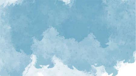 Illustration pour Blue watercolor background for textures backgrounds and web banners design - image libre de droit