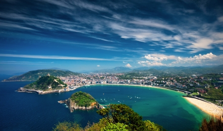 Photo pour San Sebastian, Spain - image libre de droit