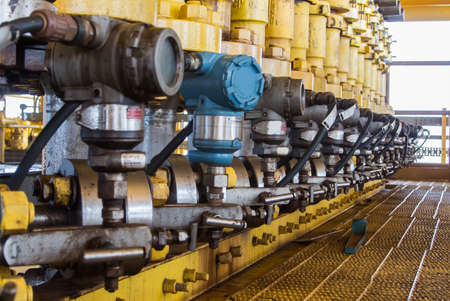 pressure guage in oil and gas industry