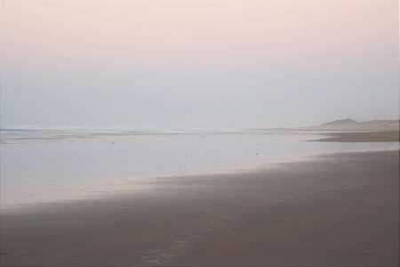 Dawn on the Atlantic Ocean