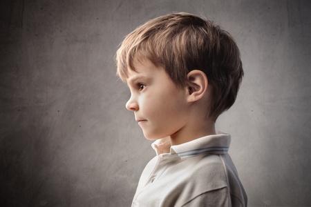 Profile of a child