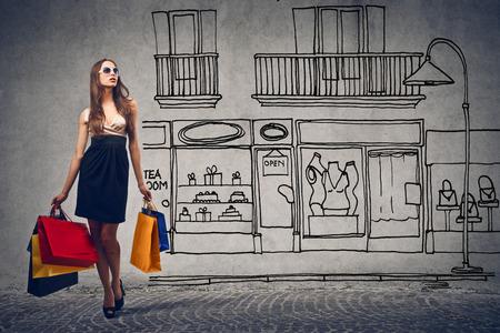 Foto de Shopping day - Imagen libre de derechos