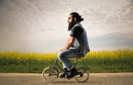 Photo pour Weird mean of transport - image libre de droit