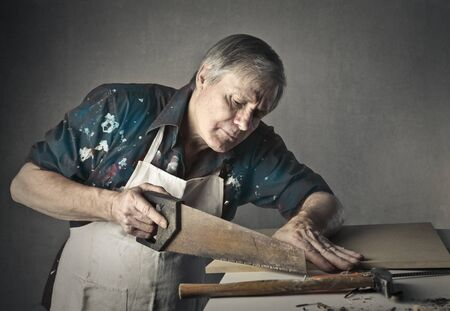 Photo pour Craftsman at work - image libre de droit