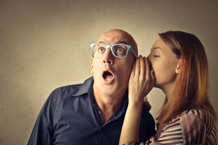 Foto für Teen whispering a secret - Lizenzfreies Bild