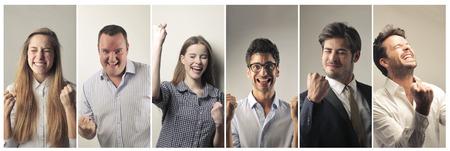 Photo pour Successful people - image libre de droit