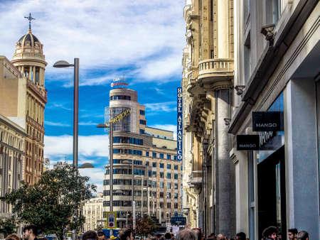 Madrid gran via