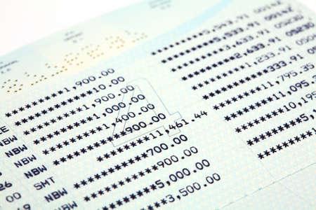 Saving Account Passbook