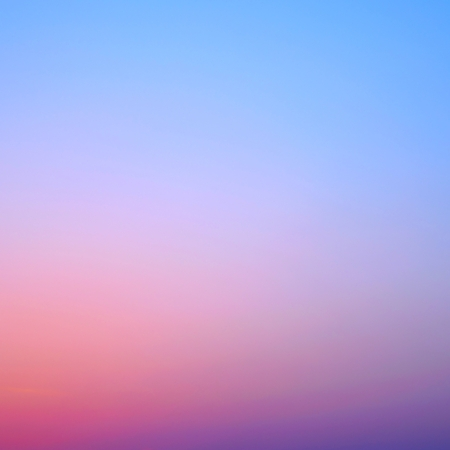 clear sunset sky gradient background square