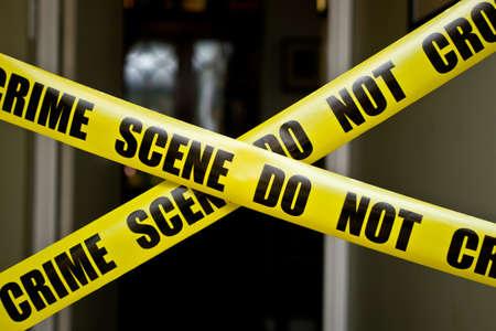 Indoor crime scene