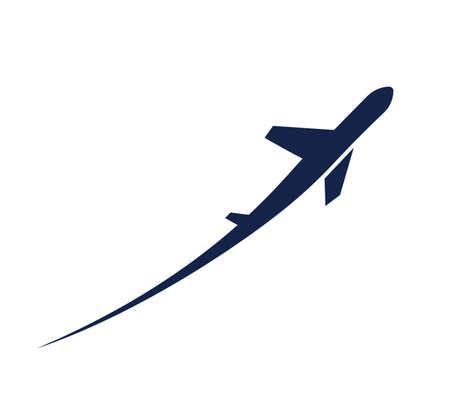 Ilustración de airplane symbol - Imagen libre de derechos