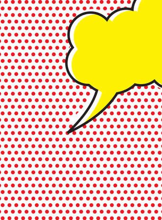 Pop Art Speech Bubble