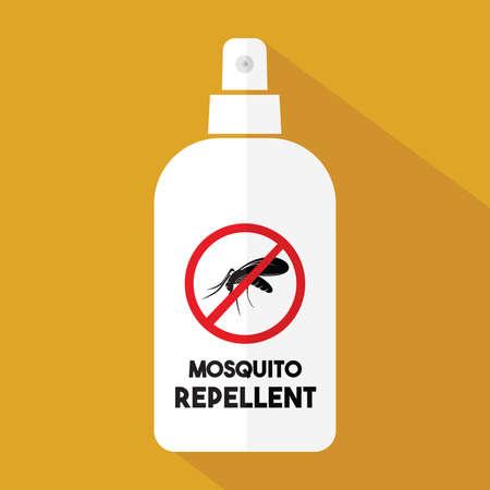 Mosquito repellent vector icon