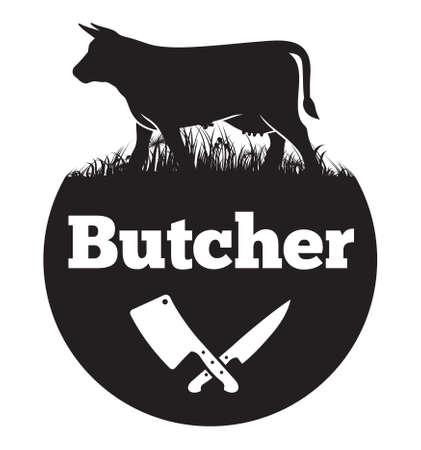 Ilustración de Butcher vector icon - Imagen libre de derechos