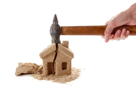 The division of property upon divorce. Unsuccessful mortgages, a lot of debt. Seizure of property.