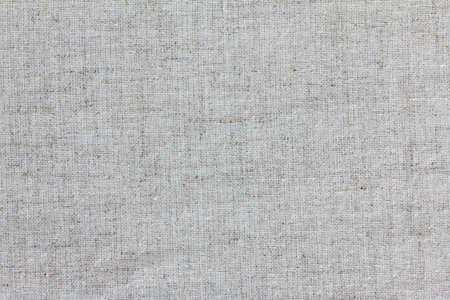 Photo pour Rough linen texture close up, isolated background - image libre de droit