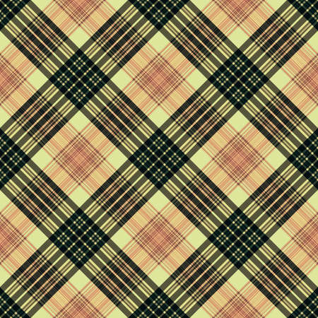 Stripes background, square lines tartan, rectangle diagonal pattern seamless,  grid english.