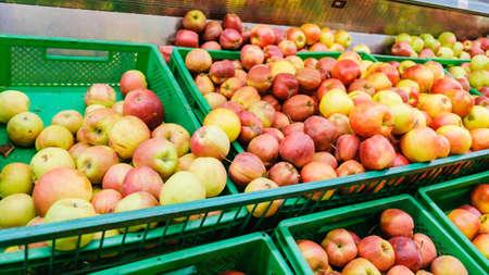 Foto für apple fruit fresh healthy food background natural, organic. - Lizenzfreies Bild