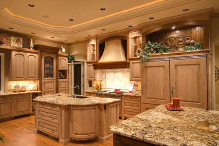 Photo for Newly constructed home with beautiful furnished kitchen - Royalty Free Image