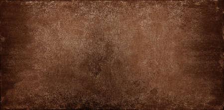 Photo pour Grunge brown uneven stone texture background with cracks and stains - image libre de droit