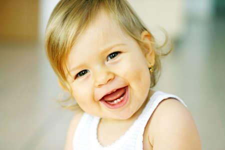 Foto de Laughing baby - Imagen libre de derechos