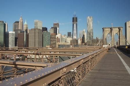 New York City Brooklyn Bridg