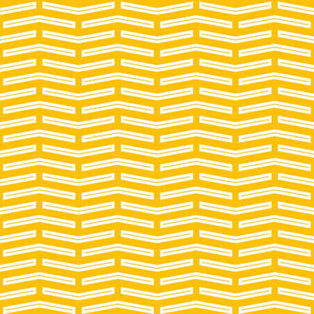 Linear Geometric Coourful Abstract Seamless Pattern. Vector White and Yellow Textured Background.